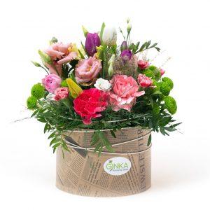 Flower box mix kvetov 20/13 RADOSŤ
