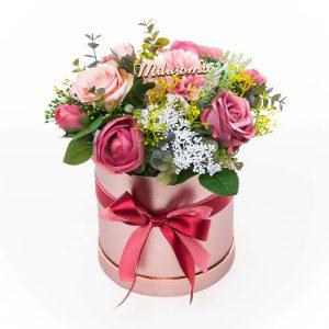 Látkový flower box DAHLIA