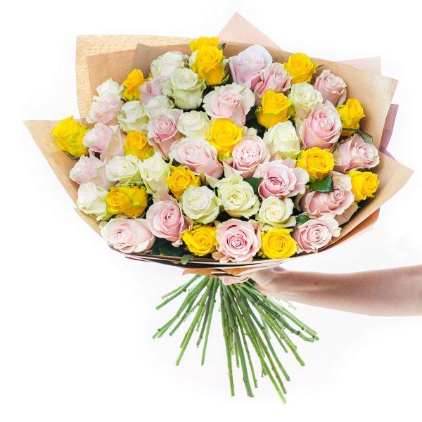 Kytica mix ruží PÔVAB