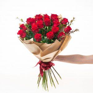 Kytica z 20 ruží PRÍŤAŽLIVOSŤ